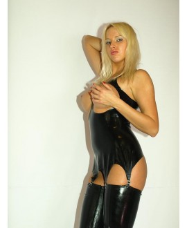 The latest collection of FASHION STYLE-latex corset - sizes S-XXXL