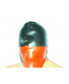 Latex mask with natural S-XL