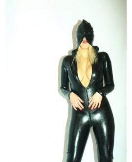 Overall, the latest collection of natural latex FASHION STYLE size S - S-XXXL