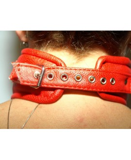 Artificial leather fetish collar manufacturer