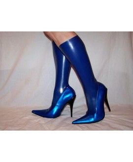Boots - latex-natural-rubber latex solution heel 13cm 36-46