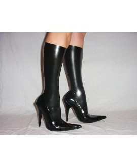 Boots of natural rubber latex solution heel 13cm 36-46