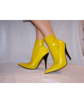 Boots of natural rubber latex, size S 36-47 13cm heel